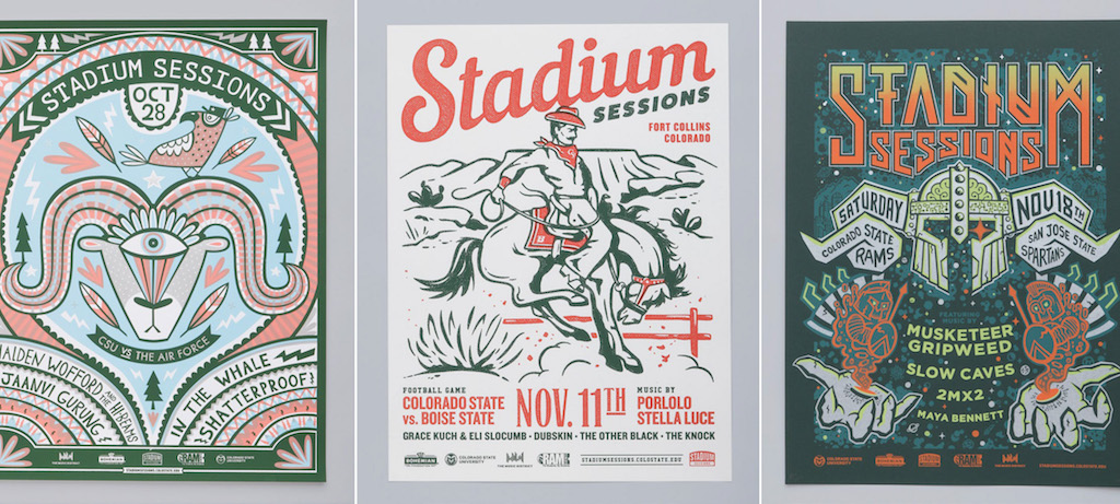 Stadium Sessions posters
