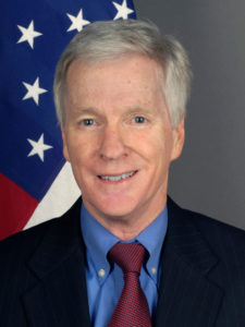 Ambassador Ryan Crocker portrait
