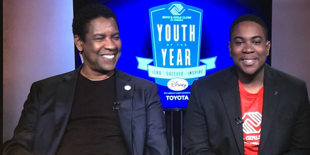 Denzel Washington and Malachi Haynes