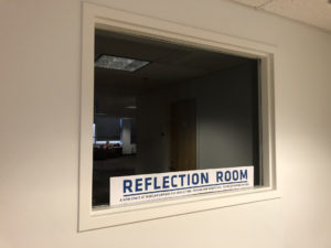 Reflection Room Window