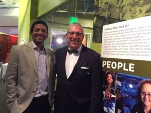 Sunil Cherian and Wade Troxel at Smithsonian