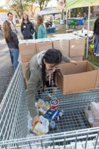 Volunteer sorting