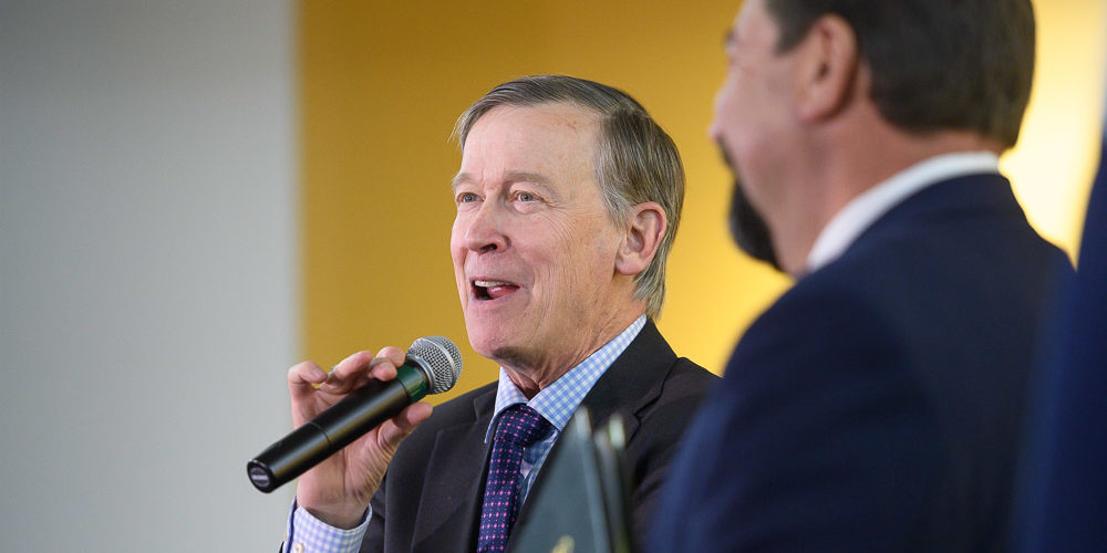 JOhn Hickenlooper and Tony Frank