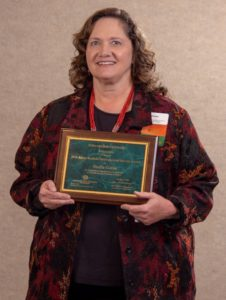 Sheila Gains, 2018 Extension award winner