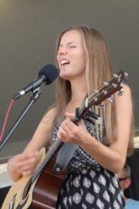 Taylor Shea singing