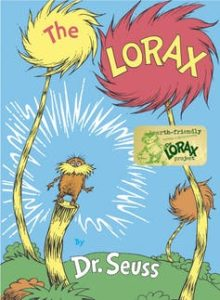 Book cover The Lorax