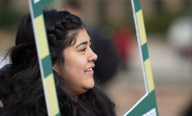 Colorado State University celebrates its first-generation students on National FIrst Generation Day. November 8, 2018