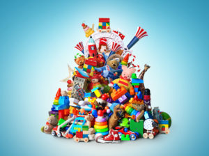 photo of a pile of toys
