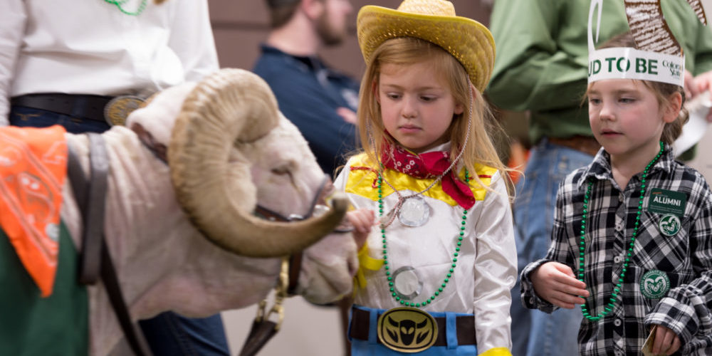 CSU Day at the 2018 National Western Stock Show.
