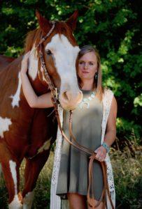 Jordan Roggen and horse