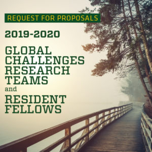 Global Challenges Research Teams and Resident Fellows poster