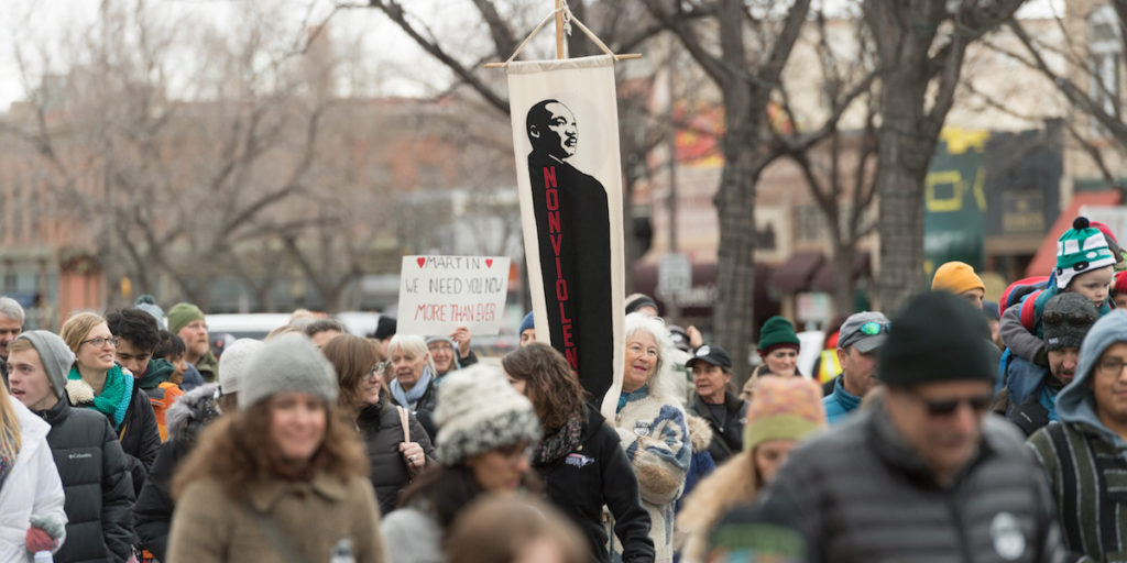 MLK March 2017 in Fort Collins