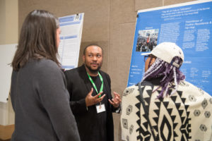 "Colorado State University theatre major Kent Washington III talks about his project ""The Art of Culture Cultivation"" - The Social and Cultural Importance of Inclusive Concert at the fourth annual Multicultural Undergraduate Research Art and Leadership Symposium or MURALS, March 30, 2018."