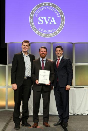 Tony Frank student-veterans award