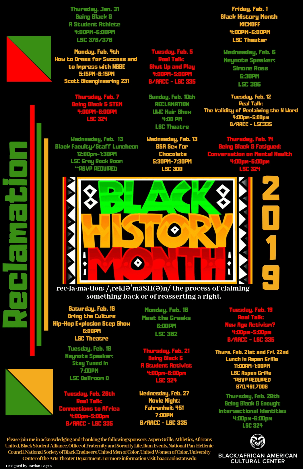 Celebrate Black History Csu Hosting Variety Of Events For Black History Month