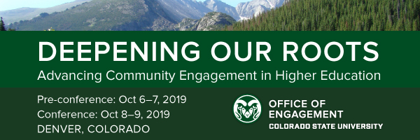 Engagement conference poster