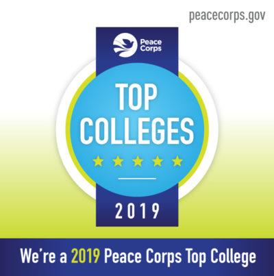 Peace Corps 2019 logo