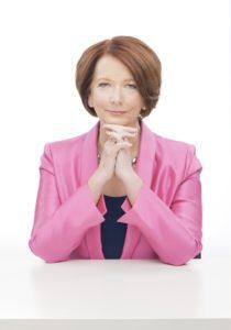 Julia Gallard, first female prime minister of Australia