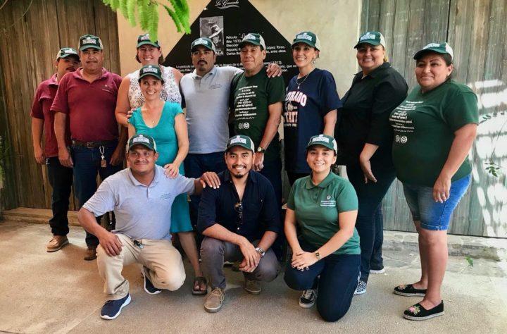 Group photo of CSU Todos Santos Center team.