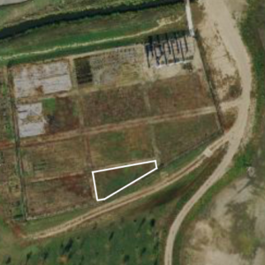 Satellite image of plot for new hives