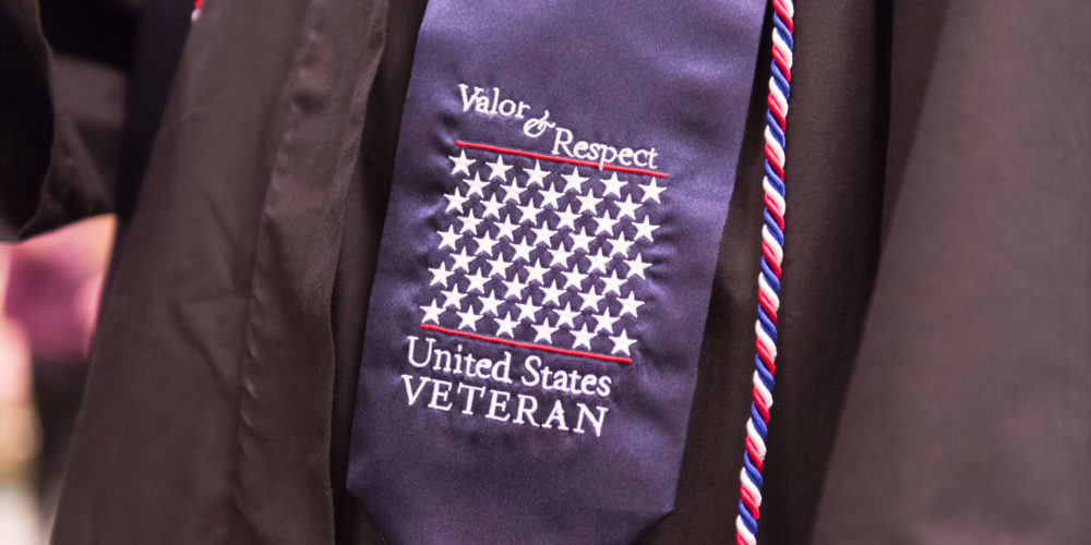 Veterans grad sash