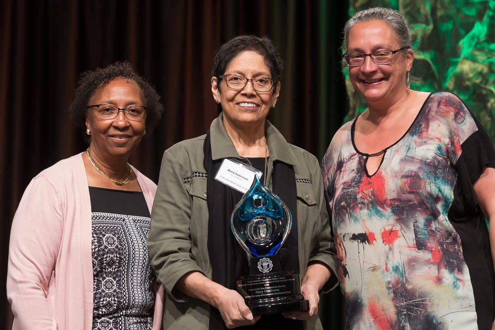 Blanche Hughes, Mary Ontiveros and Sue James at Celebrate 2019