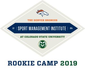 Bronco Rookie Camp 2019 logo