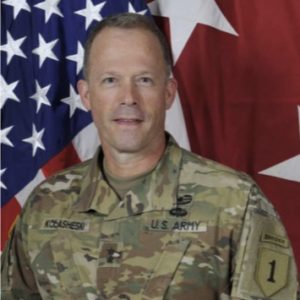 Head shot of Major General John Kolasheski