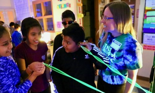 CSU's Little Shop of Physics brings science experiments to Bruce Randolph School.