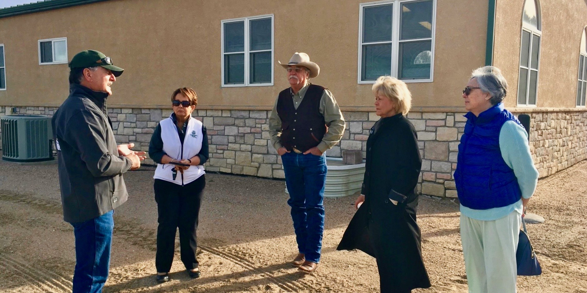 Speaking with Mike Bartolo, director of the Arkansas Valley Research Center in Rocky Ford. The CSU System has been engaged in listening tours around the state to gather ideas that will help inform the future educational programming at the National Western Center site.