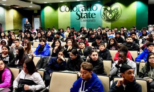 8th graders from Bruce Randolph Middle School visit the CSU campus in Fort Collins, which is held annually for the entire 8th grade class.