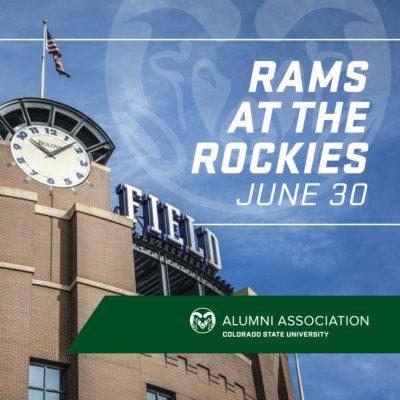 Rams at the Rockies logo