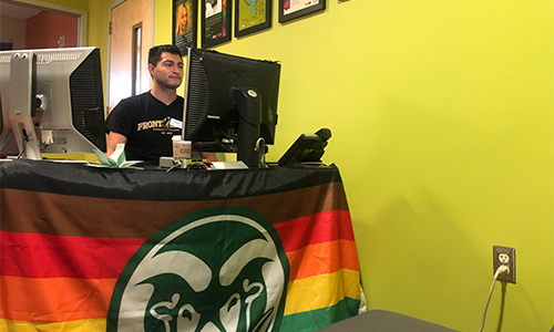 Pride Resource Center front desk