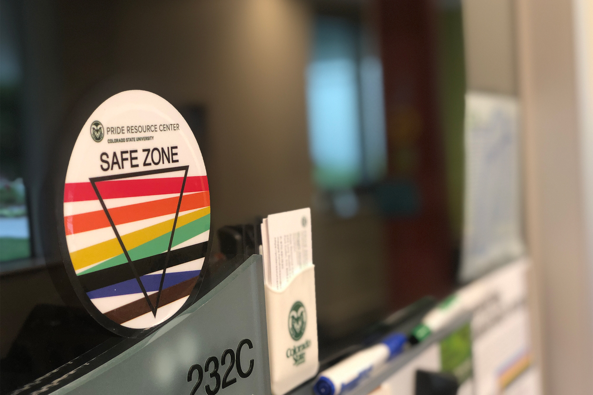 CSU Safe Zone Decal