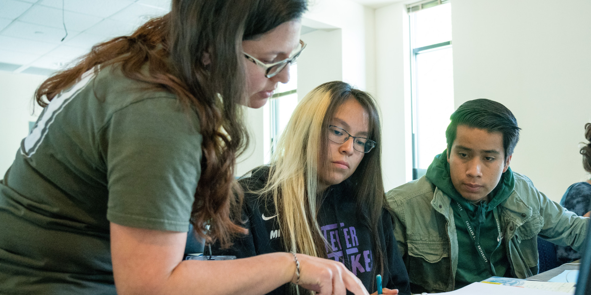 Students participate in the Native Education Forum at Colorado State University