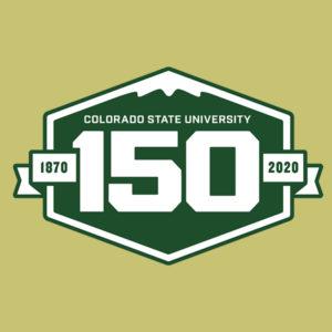 CSU 150 logo