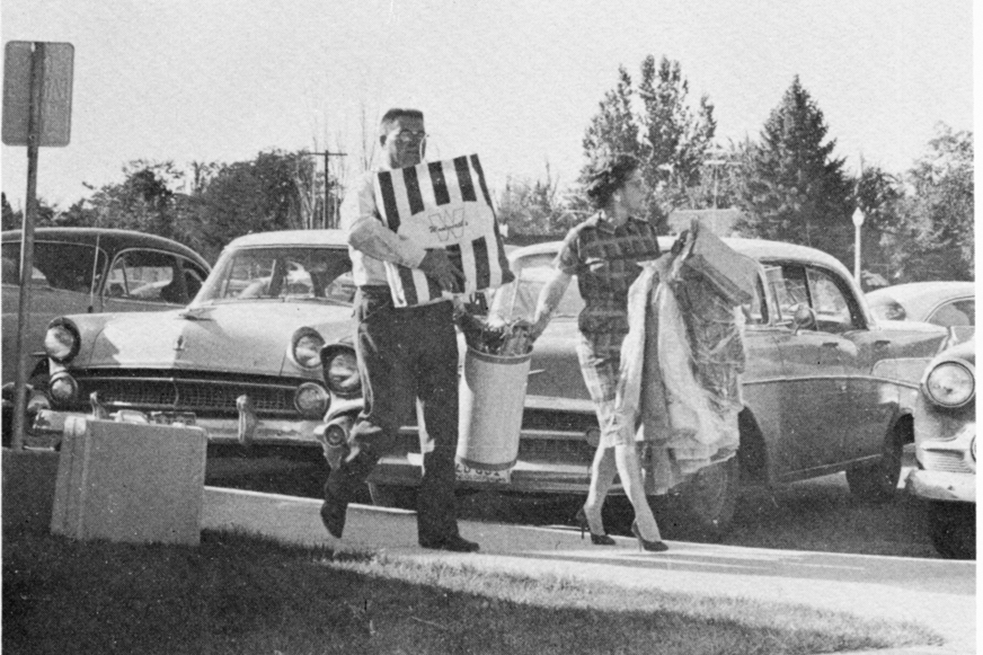 Move-in Day, Sept 1960