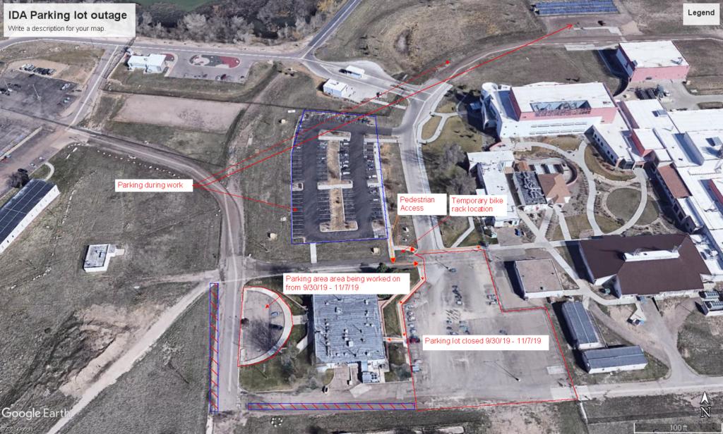 IDA Parking Lot Map CSU