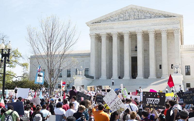 Rally at Supreme Court