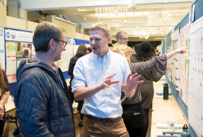 The research and creativity of Colorado State University's graduate students is displayed and celebrated at the Graduate Student Showcase, November 12, 2019.
