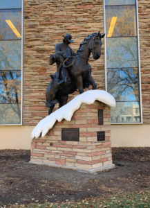 Colorado State Cowboy Statue