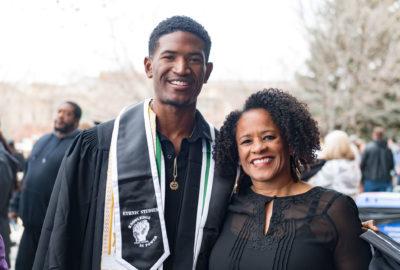 Graduates of the Colorado State University College of Liberal Arts are celebrated at the Fall Commencement December 21, 2019.