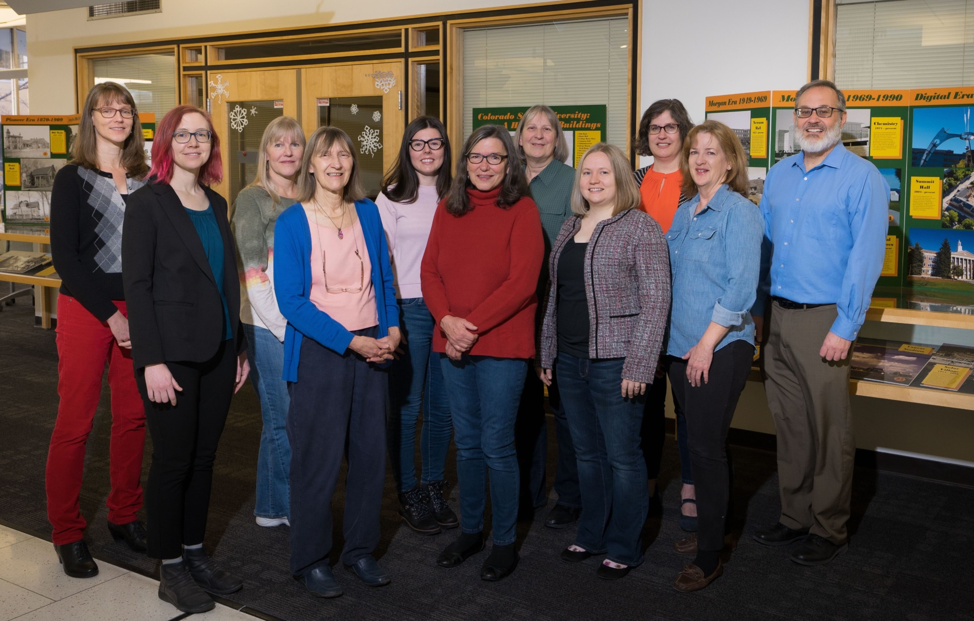 Digital and Archives Staff at Morgan Library