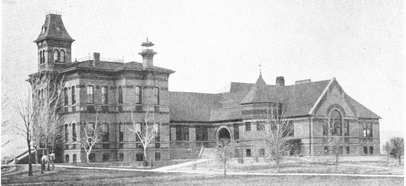 Old Main in 1891
