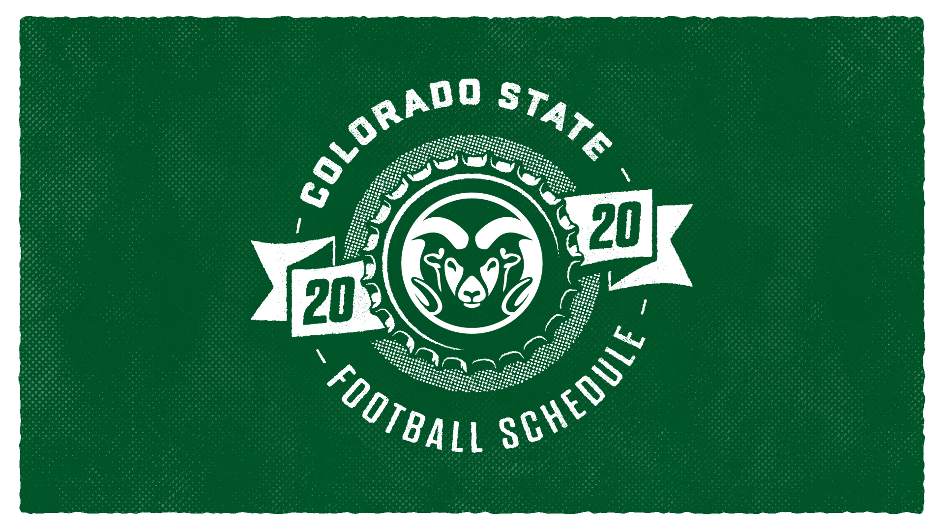 Colorado State Football Schedule 2020 graphic