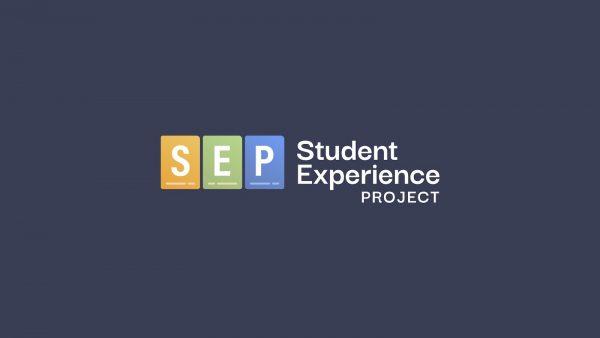 SEP Logo black background