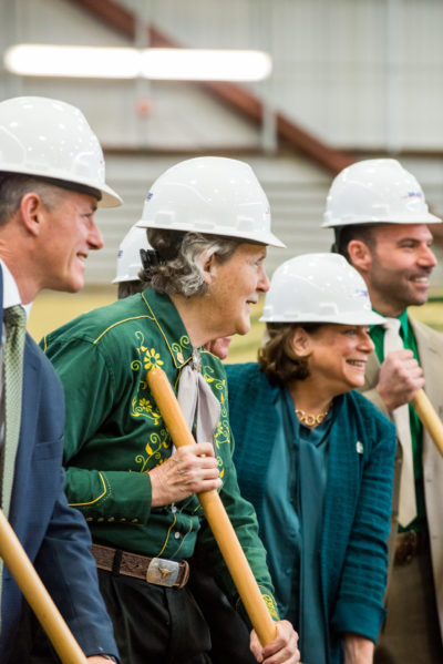 Temple Grandin groundbreaking