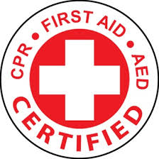 Red Cross certification badge