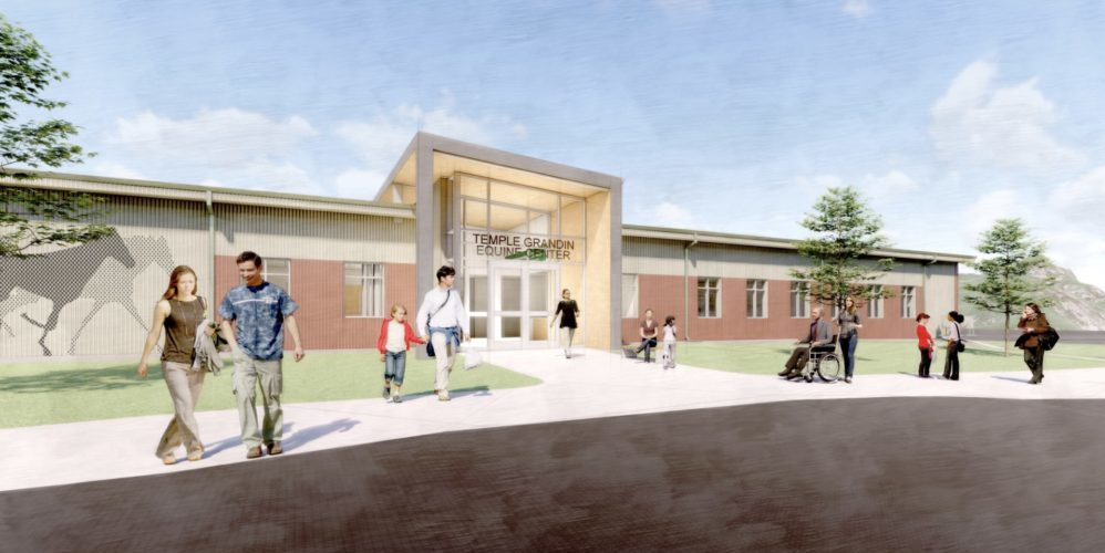 Temple Grandin Center rendering