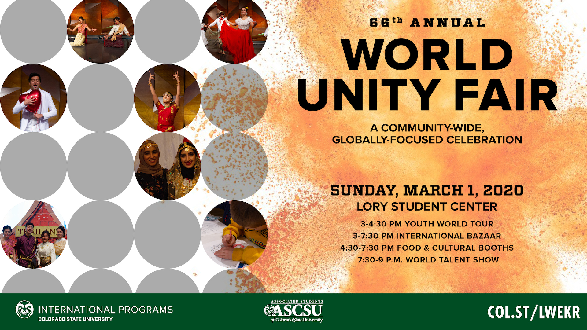 World Unity Fair poster